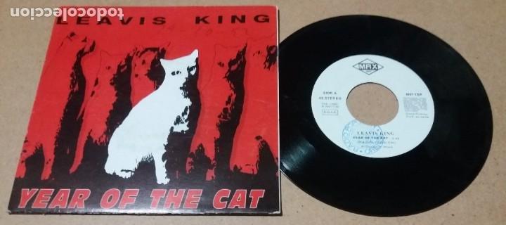 LEAVIS KING / YEAR OF THE CAT / SINGLE 7 PULGADAS (Música - Discos - Singles Vinilo - Pop - Rock Internacional de los 90 a la actualidad)