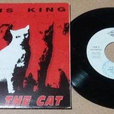 Discos de vinilo: LEAVIS KING / YEAR OF THE CAT / SINGLE 7 PULGADAS. Lote 245757180