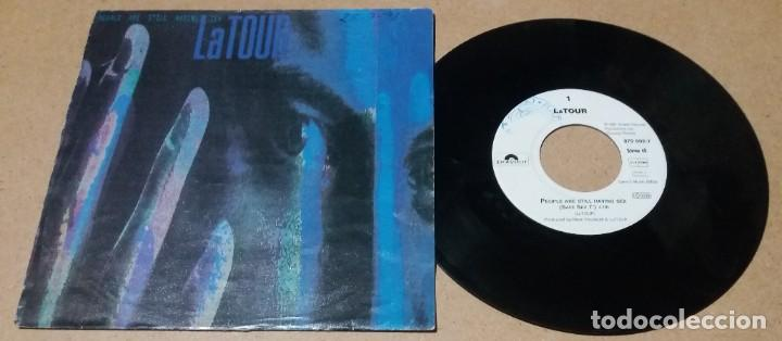 LATOUR / PEOPLE ARE STILL HAVING SEX / SINGLE 7 PULGADAS (Música - Discos - Singles Vinilo - Pop - Rock Internacional de los 90 a la actualidad)