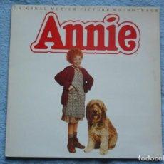 Disques de vinyle: ANNIE,B.S.O.EDICION ESPAÑOLA DEL 82 DOBLE CARATULA. Lote 245767220