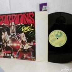 Discos de vinilo: SCORPIONS--NO ONE LIKE YOU-- MAXI SINGLES 45 RPM-MADRID--1985--EMI ODEON--. Lote 245773850