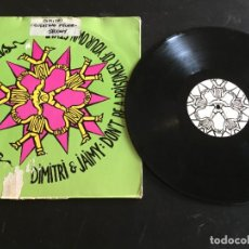 "Discos de vinilo: DIMITRI & JAIMY ‎– DON'T BE A PRISONER OF YOUR OWN STYLE - 12"" HOLANDA. Lote 245779640"