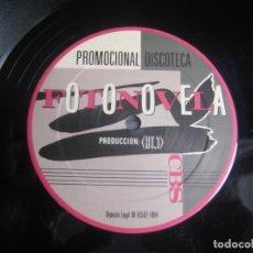 Discos de vinilo: IVAN - FOTONOVELA - MAXI SINGLE CBS 1984 PROMO - LEVE USO - ITALODISCO CLASICO 80'S. Lote 245779970