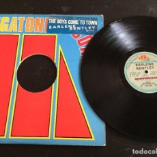 """Discos de vinilo: EARLENE BENTLEY – THE BOYS COME TO TOWN - 12"""" ORIGINAL USA. Lote 245784770"""
