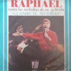 Discos de vinilo: RAPHAEL. EP. SELLO GAMMA. EDITADO EN MEXICO.. Lote 245788600