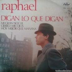 Discos de vinilo: RAPHAEL. EP. SELLO CAPITOL. EDITADO EN MEXICO. Lote 245789235