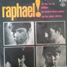 Discos de vinilo: RAPHAEL. EP. SELLO GAMMA. EDITADO EN MEXICO.. Lote 245808370