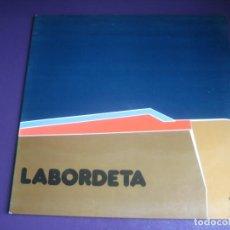 Discos de vinilo: LABORDETA - TIEMPO DE ESPERA - LP MOVIEPLAY GONG 1975 - FOLK PROTESTA ARAGON 70'S. Lote 245827625