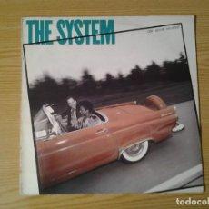 Discos de vinilo: THE SYSTEM -DON'T DISTURB THIS GROOVE- LP ATLANTIC 1987 ED. ESPAÑOLA 781691-1 MUY BUENAS CONDICIONES. Lote 245903585