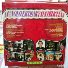 Discos de vinilo: MANOLO ESCOBAR Y SUS PELÍCULAS - LP. SELLO BELTER 1970. Lote 245908005