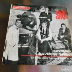 Discos de vinilo: SIREX, LOS, EP, SAN CARLOS CLUB + 3 , AÑO 1964. Lote 245911215