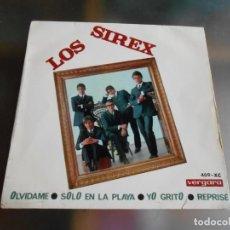 Discos de vinilo: SIREX, LOS, EP, SOLO EN LA PLAYA + 3 , AÑO 1966. Lote 245916205