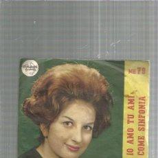 Discos de vinilo: MINA IO AMO TU AMI. Lote 245916620