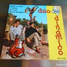 Discos de vinilo: DUO DINAMICO, EP, LAMENTOS DE GUITARRA + 3 , AÑO 1964. Lote 245917010