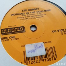 Discos de vinilo: LEE DORSEY – WORKING IN A COALMINE / RIDE YOUR PONY SINGLE UK REED. VG++. Lote 245918350