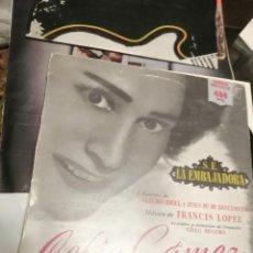 Discos de vinilo: CELIA GÁMEZ - S.E. LA EMBAJADORA - HISPAVOX. Lote 245933775