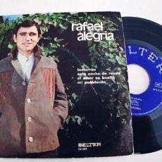 Discos de vinilo: RAFAEL ALEGRIA-EP FANFARRON +3. Lote 245937570