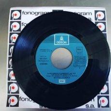 Discos de vinilo: RAFAEL FARINA-SINGLE LOS IGUALES PARA HOY-SINFONOLA. Lote 245940620