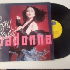 Discos de vinilo: MADONNA MAXI EXPRESS YOURSELF 1989. Lote 245940815