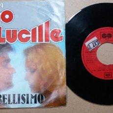 Discos de vinilo: GINO & LUCILLE / BELLISIMO / SINGLE 7 PULGADAS. Lote 245942240