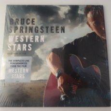Disques de vinyle: BRUCE SPRINGSTEEN LP DOBLE WESTERN STARS 2019 GATEFOLD NM NUEVO. Lote 245946335