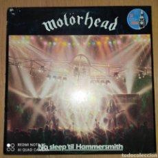 Discos de vinilo: MOTORHEAD LP NO SLEEP'TIL HAMMERSMITH. Lote 245947040