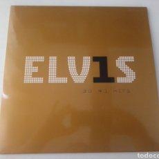 Disques de vinyle: ELVIS PRESLEY LP DOBLE ELV1S 30 #1 HITS 2015 GATEFOLD NUEVO. Lote 245947200