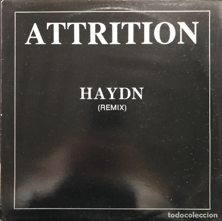 ATTRITION – HAYDN (REMIX) ANT 089 MAXI BELGIUM 1988 ELECTRO, SYNTH-POP VINILO NM CARPETA VG (Música - Discos de Vinilo - Maxi Singles - Otros estilos)