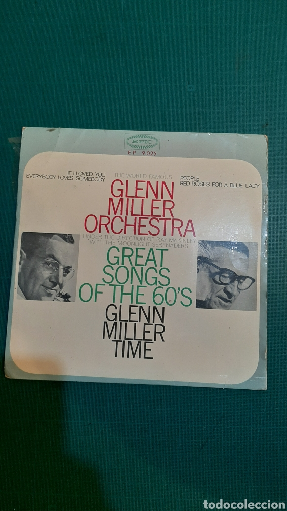 SINGLE GLENN MILLER GRAT SONG OF THE 60 DISCOS COLISEVM (Música - Discos - Singles Vinilo - Orquestas)