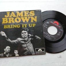 Discos de vinilo: JAMES BROWN – BRING IT UP + 3 EP FRANCIA 1967 VINILO NM/PORTADA NM. Lote 245954200