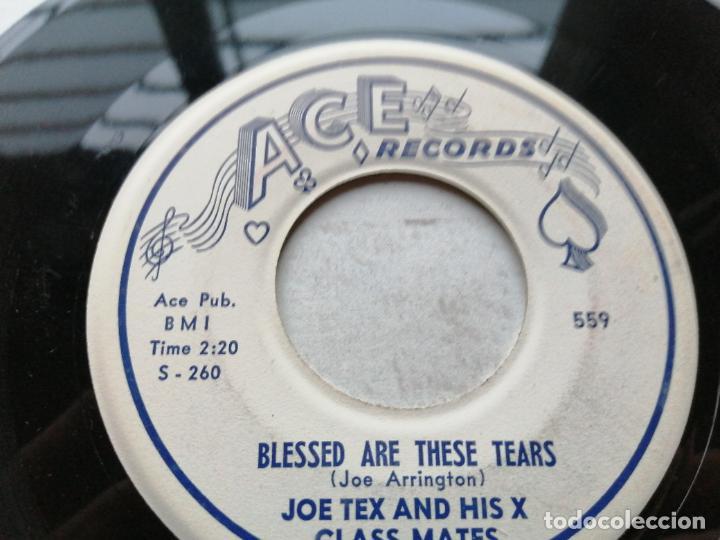 Discos de vinilo: Joe Tex And His X Class Mates – Charlie Brown Got Expelled Single USA 1958 EX - Foto 2 - 245956975