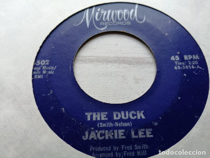 JACKIE LEE – THE DUCK/LET YOUR CONSCIENCE BE YOUR GUIDE SINGLE USA 1965 VG+ (Música - Discos - Singles Vinilo - Funk, Soul y Black Music)
