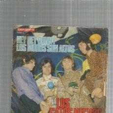 Discos de vinilo: GATOS NEGROS HEY HEY BUNNY. Lote 245958020