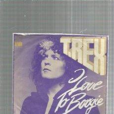 Discos de vinilo: T.REX LOVE TO BOOGIE + REGALO SORPRESA. Lote 245961620
