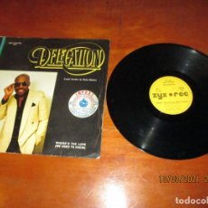 Discos de vinilo: DELEGATION - WHERE´S THE LOVE ( WE USED TO KNOW ) - MAXI - GERMANY - ZYX RECORDS - LV -. Lote 245965745