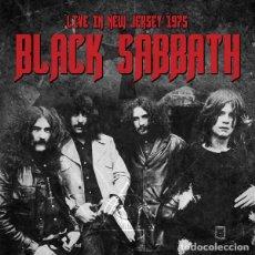 Discos de vinilo: BLACK SABBATH – LIVE IN NEW JERSEY 1975 -2 LP-. Lote 245966790