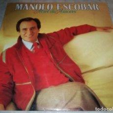 Discos de vinilo: MANOLO ESCOBAR-MIEL DE AMORES. Lote 245968860