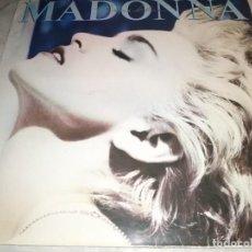 Discos de vinilo: MADONNA-TRUE BLUE-CONTIENE ENCARTE-ORIGINAL ESPAÑOL. Lote 245972315