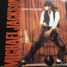 Discos de vinilo: MICHAEL JACKSON - LEAVE ME ALONE. Lote 245974635