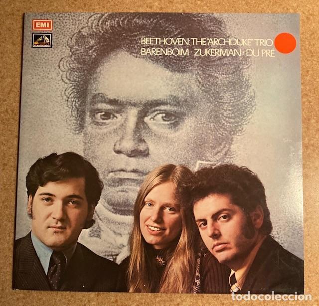 BAREMBOIM, ZUKERMAN, DU PRE - BEETHOVEN - THE ARCHDUKE TRIO (Música - Discos - LP Vinilo - Clásica, Ópera, Zarzuela y Marchas)