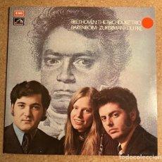 Discos de vinilo: BAREMBOIM, ZUKERMAN, DU PRE - BEETHOVEN - THE ARCHDUKE TRIO. Lote 245987505
