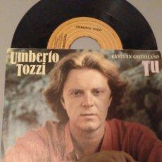 Discos de vinilo: UMBERTO TOZZI. Lote 245994195