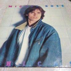 Discos de vinilo: MIGUEL BOSE-CHICAS-CONTIENE ENCARTE. Lote 245997005