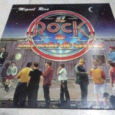 Discos de vinilo: MIGUEL RÍOS-EL ROCK DE UNA NOCHE DE VERANO. Lote 246001390