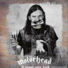 Discos de vinilo: MOTORHEAD -IT NEVER GETS DARK -2 LP-. Lote 246021960