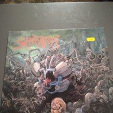 """Discos de vinilo: SUFFOCATION """" EFFIGY OF THE FORGOTTEN """". EDICIÓN ORIGINAL. R/C RECORDS.1991. DEATH METAL.. Lote 246041975"""