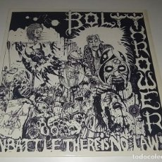 Discos de vinilo: LP BOLT THROWER - IN BATTLE THERE IS NO LAW. Lote 246043450
