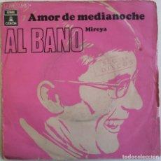 Discos de vinilo: (SÓLO CUBIERTA, SIN DISCO) AL BANO-AMOR DE MEDIANOCHE, ODEON 1J 006-17.545 M. Lote 246044030