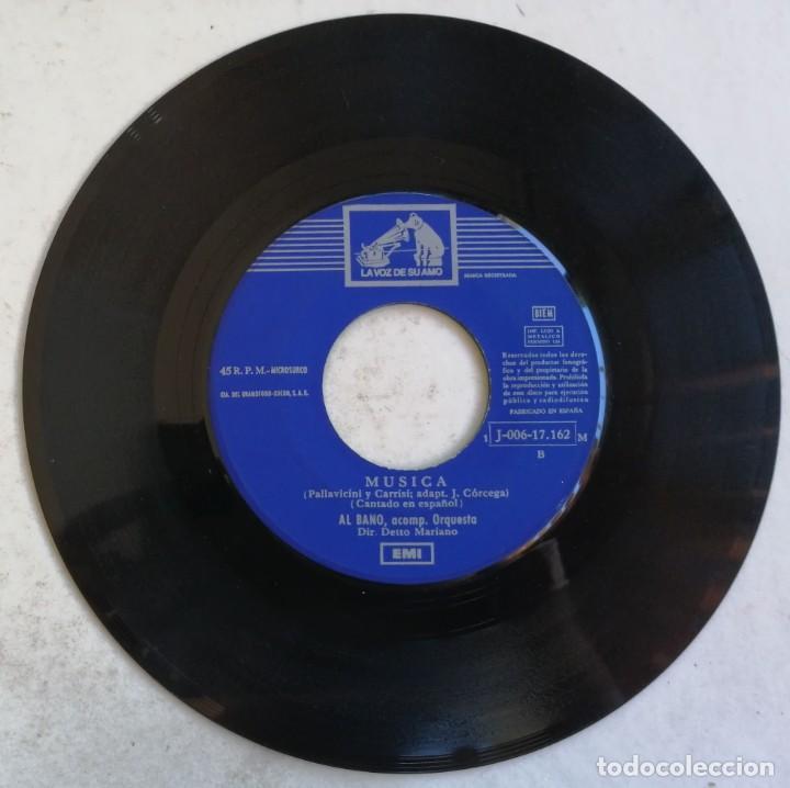 Discos de vinilo: (SÓLO DISCO) Al Bano-Pensando En Ti, La Voz De Su Amo 1 J-006-17.162 M - Foto 2 - 246044235