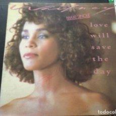 Discos de vinilo: WHITENY HOUSTON - LOVE WILL SAVE THE DAY .. Lote 246046295